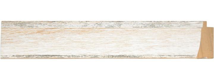 Medium White Silver Fleece