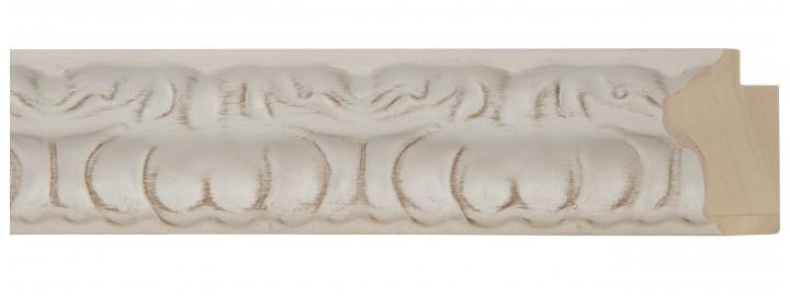 "1 1/2"" Sculpted Marble Ornate"