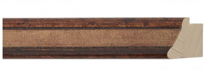 Small Cohiba Cognac Leather Panel