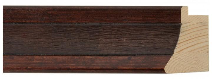 Large Bolivar Brown Leather Panel