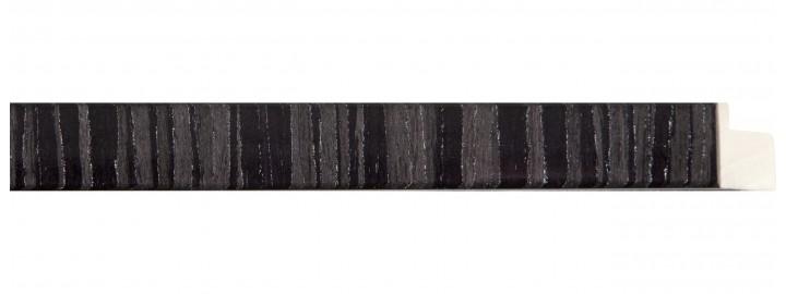Black, Grey, and Silver Stripe