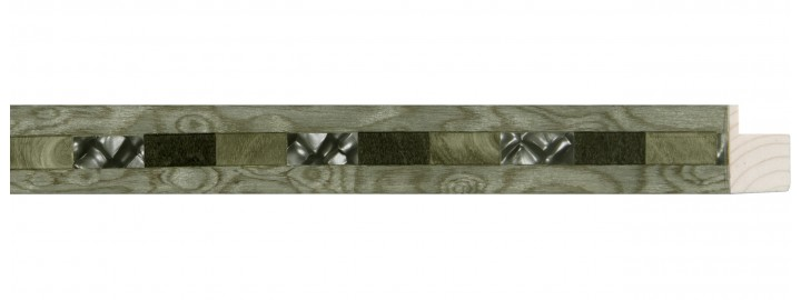 Small Steel & Gray Variegated