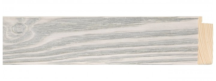 Medium Silver Patina Over Cream