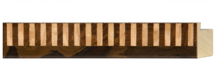 Brown Piano Keys Marquetry