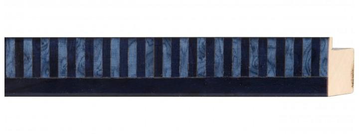 Blue Piano Keys Marquetry