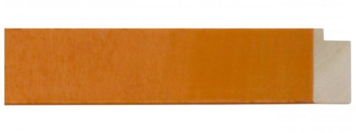 "1 1/2"" Orange Flat Lollypop"