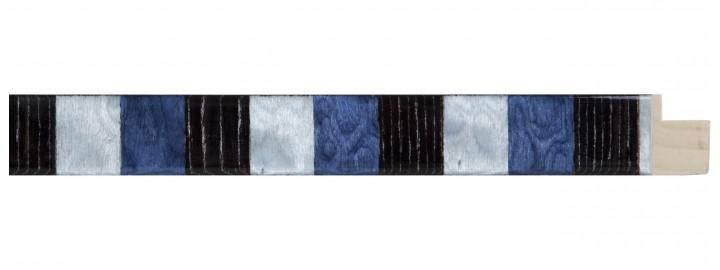 Wenge, Blue, Teal Squares