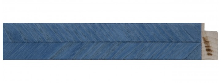 Light Blue Herringbone