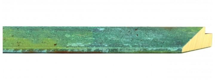 Oxidized Copper Rust Angle