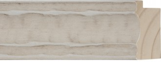 """2 1/2"""" Sculpted Marble Wide"""