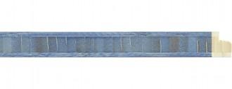 Shibori Blue Bambu