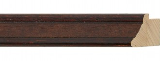 Small Bolivar Brown Leather Panel