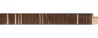 Thin Brown and Cream Stripe