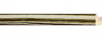 Sage, Brown, Cream Stripe