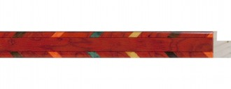 Small Red w/ Fiesta Marquetry