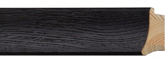 "2"" Coal Black Veneer Scoop"