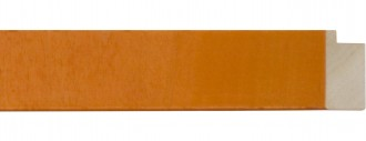 "1 1/2"" Orange Flat Lollypop"