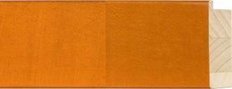 "3"" Orange Flat Lollypop"