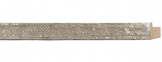 "3/4"" Woven Impressions Silver Leaf"