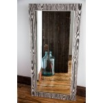24x48 Classic Grey & Silver Mirror