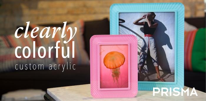 Custom Prisma Acrylic Frames Featured Slide