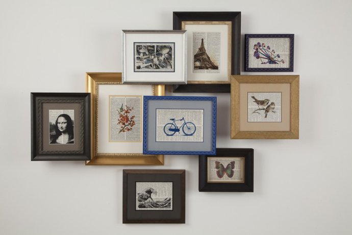 Creative Frame Arrangement
